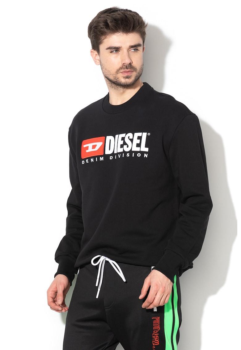 Bluza sport cu logo brodat S-Crew-Division - 00SHEP-0CATK imagine