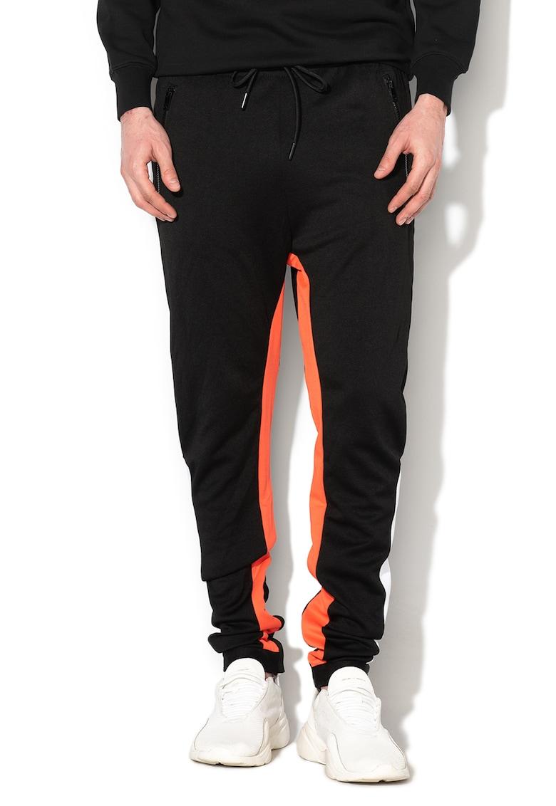 Pantaloni conici cu logo Mitsuo