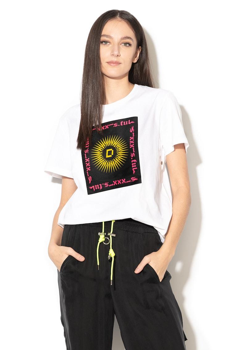Tricou cu imprimeu grafic Daria