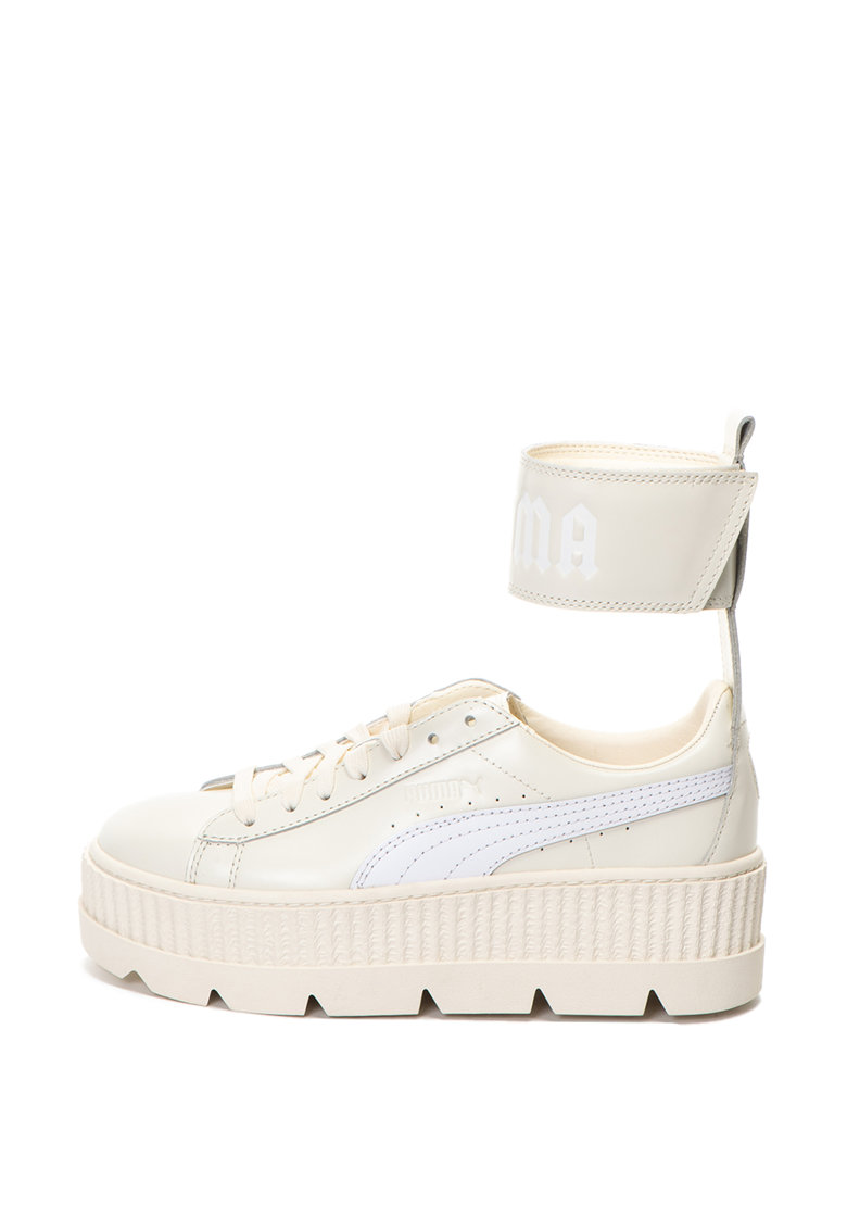 Pantofi sport wedge cu bareta pe glezna Fenty X
