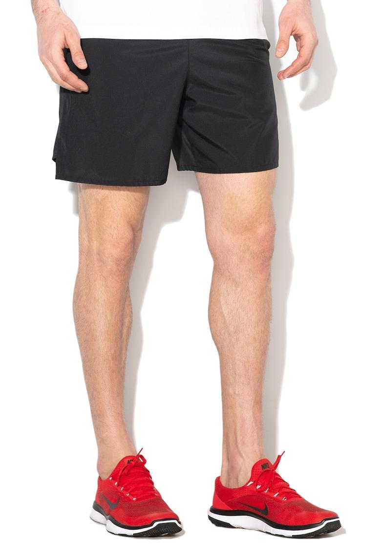 Pantaloni scurti cu imprimeu logo si Dri-Fit - pentru alergare