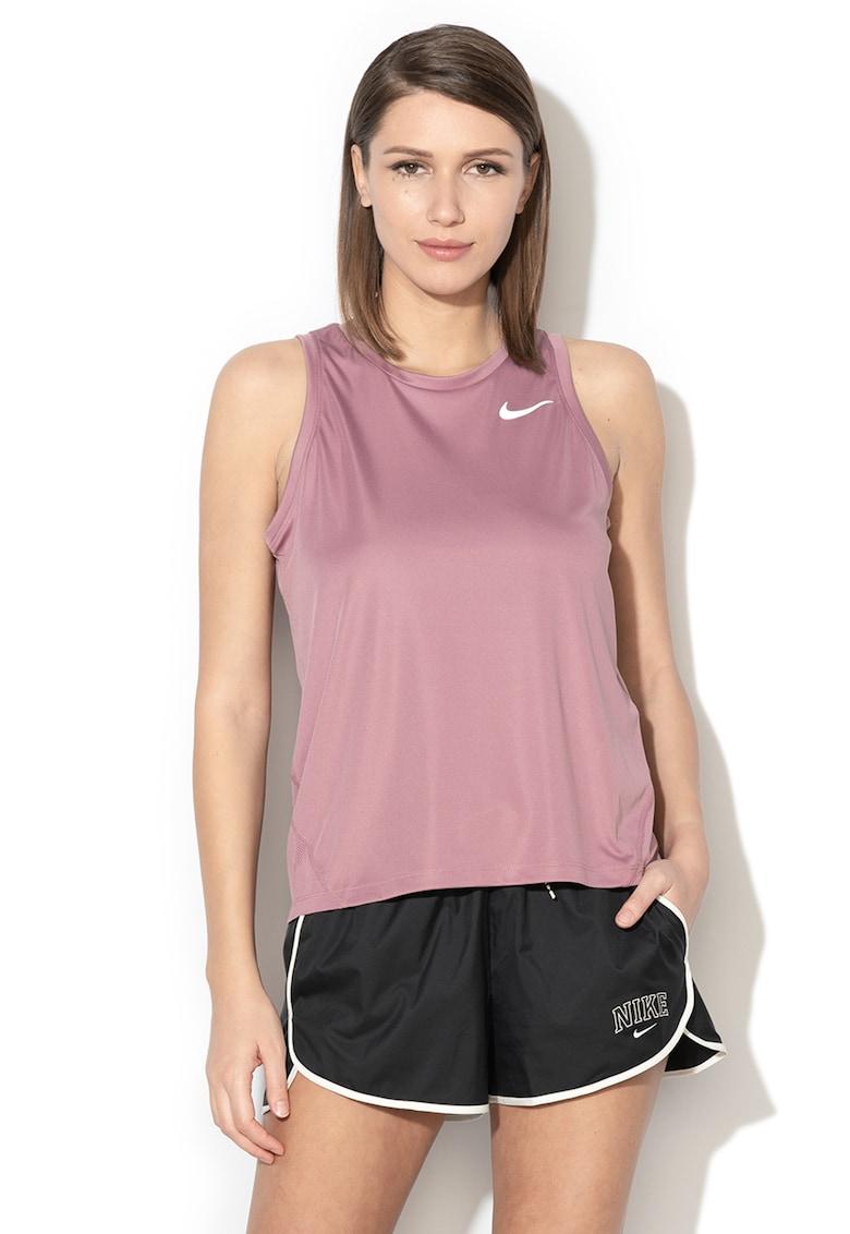 Top cu logo reflectorizant – pentru alergare Dri-Fit de la Nike