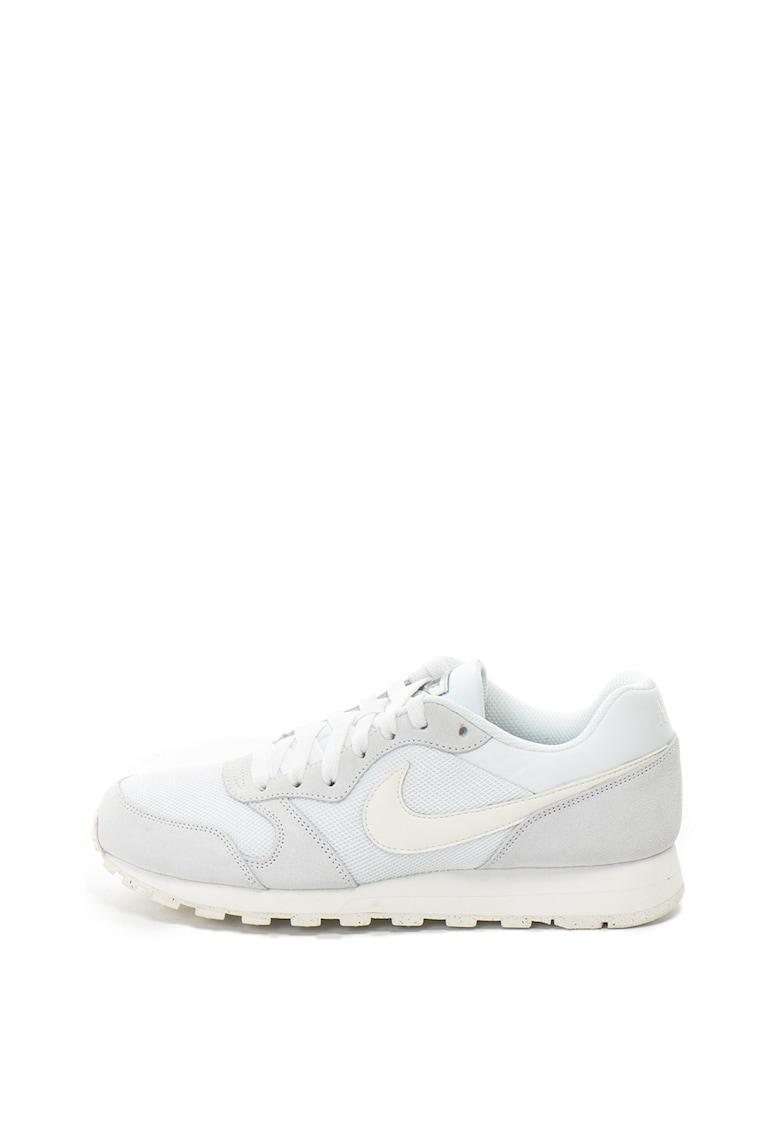 Pantofi sport cu insertii de piele intoarsa MD Runner