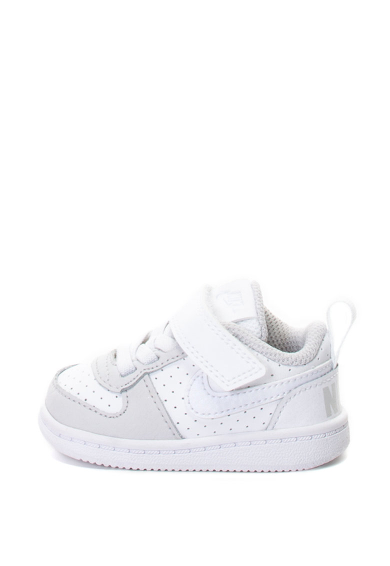 Pantofi sport cu insertii de piele Court Borough