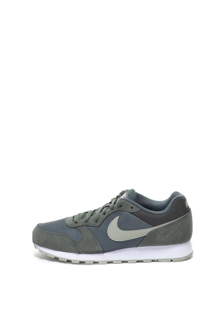 Pantofi sport cu garnituri de piele intoarsa MD Runner