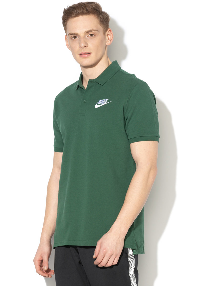 Tricou polo din pique cu broderie logo de la Nike