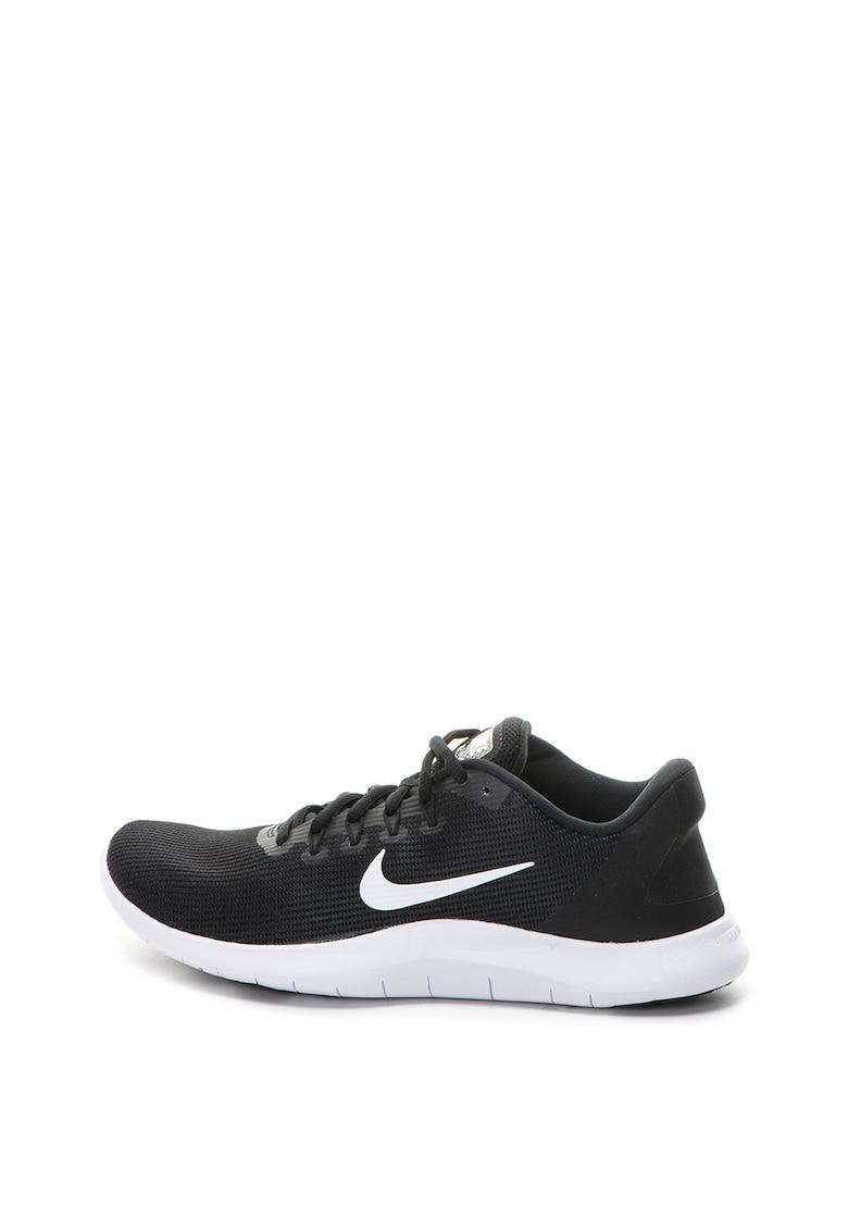Pantofi sport de plasa cu aspect tricotat Flex Running