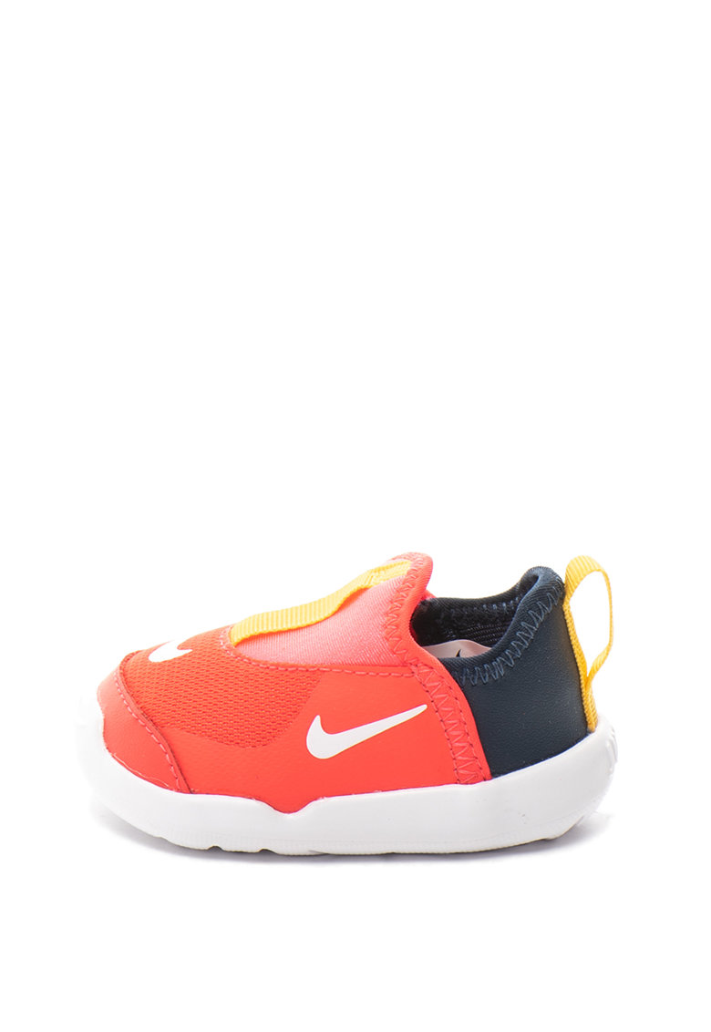 Pantofi slip-on cu insertii de plasa Lil' Swoosh de la Nike