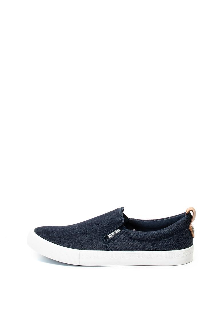 Pantofi slim fit de denim