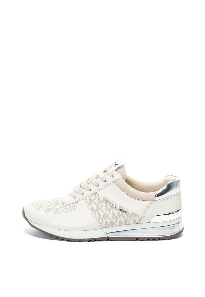 Pantofi sport cu garnituri de piele Allie Michael Kors fashiondays.ro