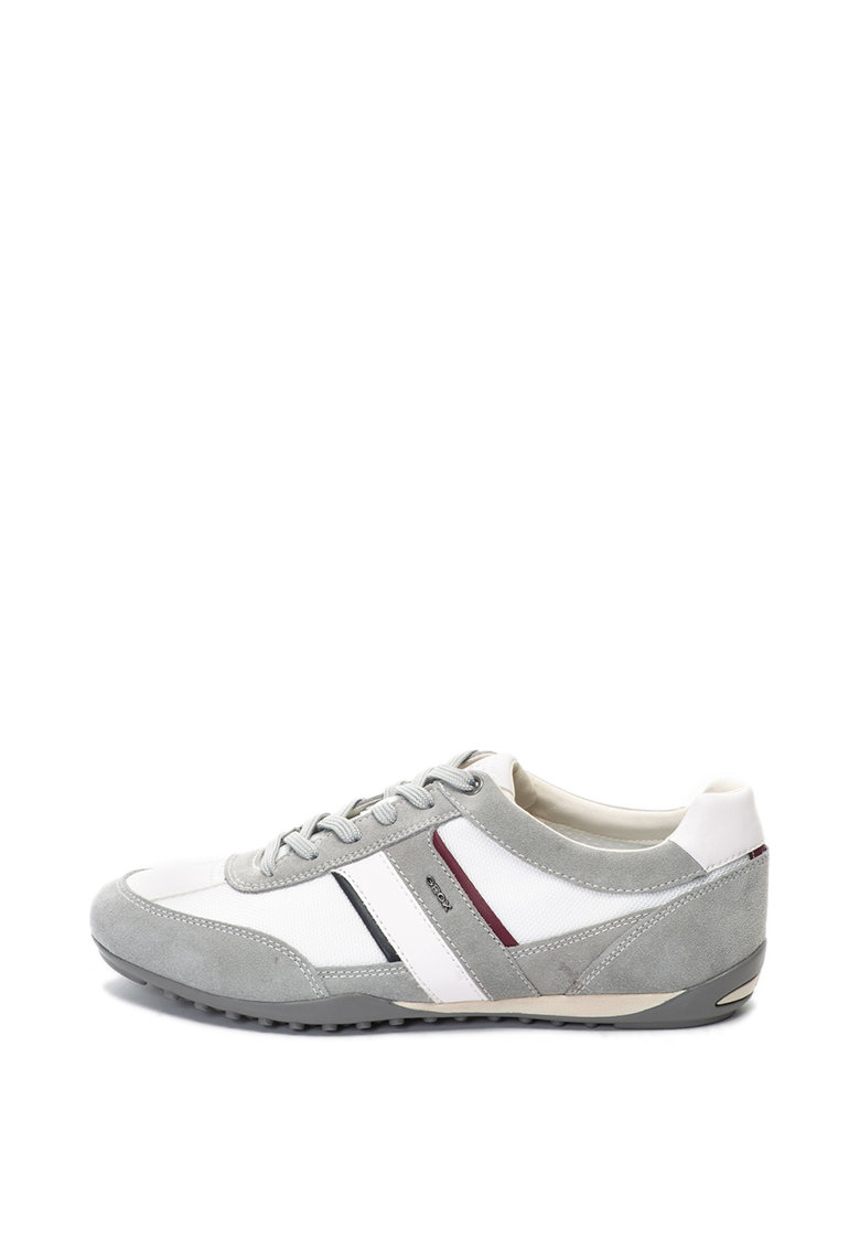 Pantofi sport cu garnituri de piele intoarsa Wells