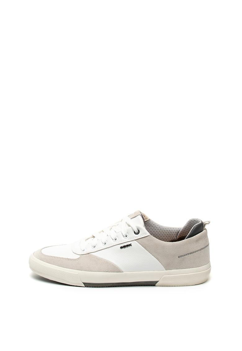Pantofi sport cu insertii de piele intoarsa Kaven
