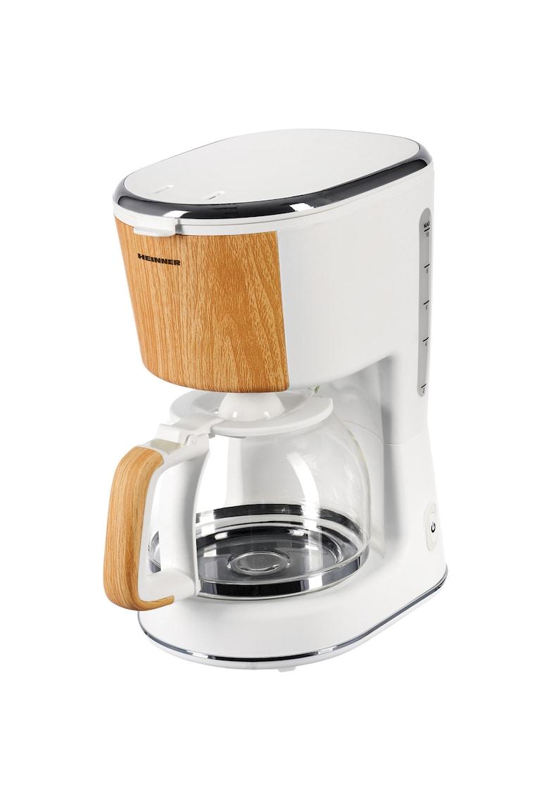 Cafetiera - 900 W - 1.25 L - filtru detasabil - anti-picurare - oprire automata - Alb imagine fashiondays.ro