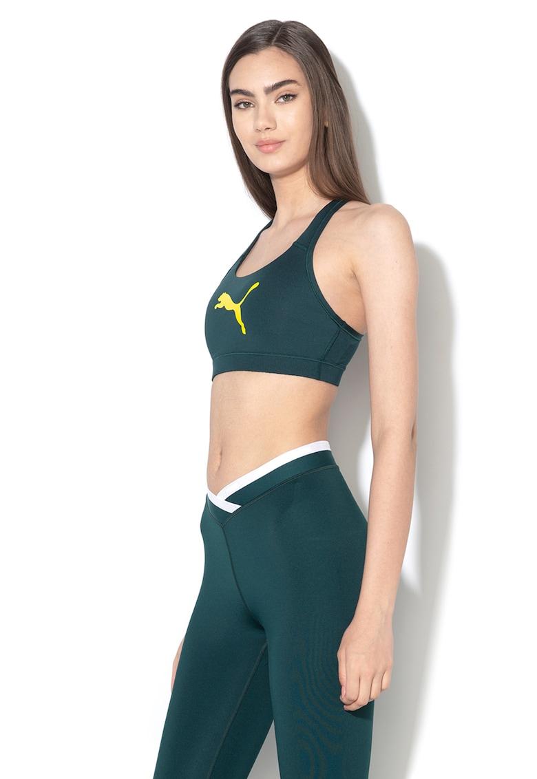 Bustiera cu imprimeu logo pentru fitness 4Keeps de la Puma
