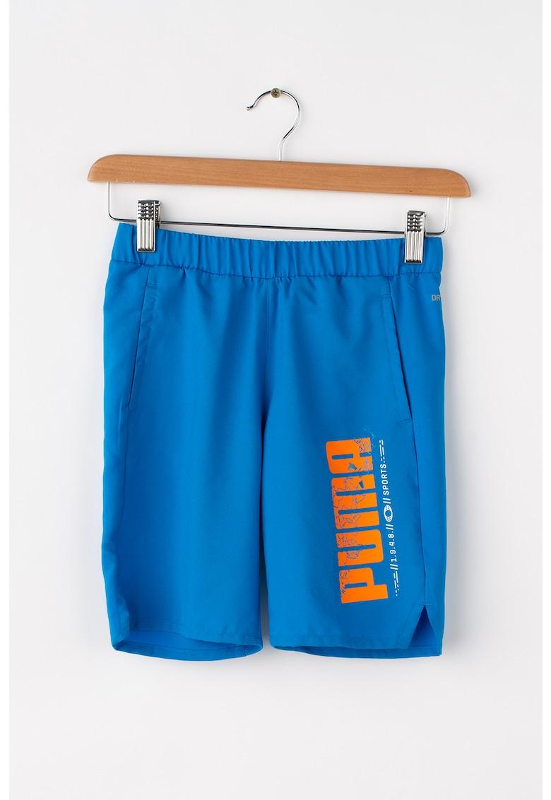 Puma Pantaloni scurti cu imprimeu logo si DryCell – pentru antrenament Active