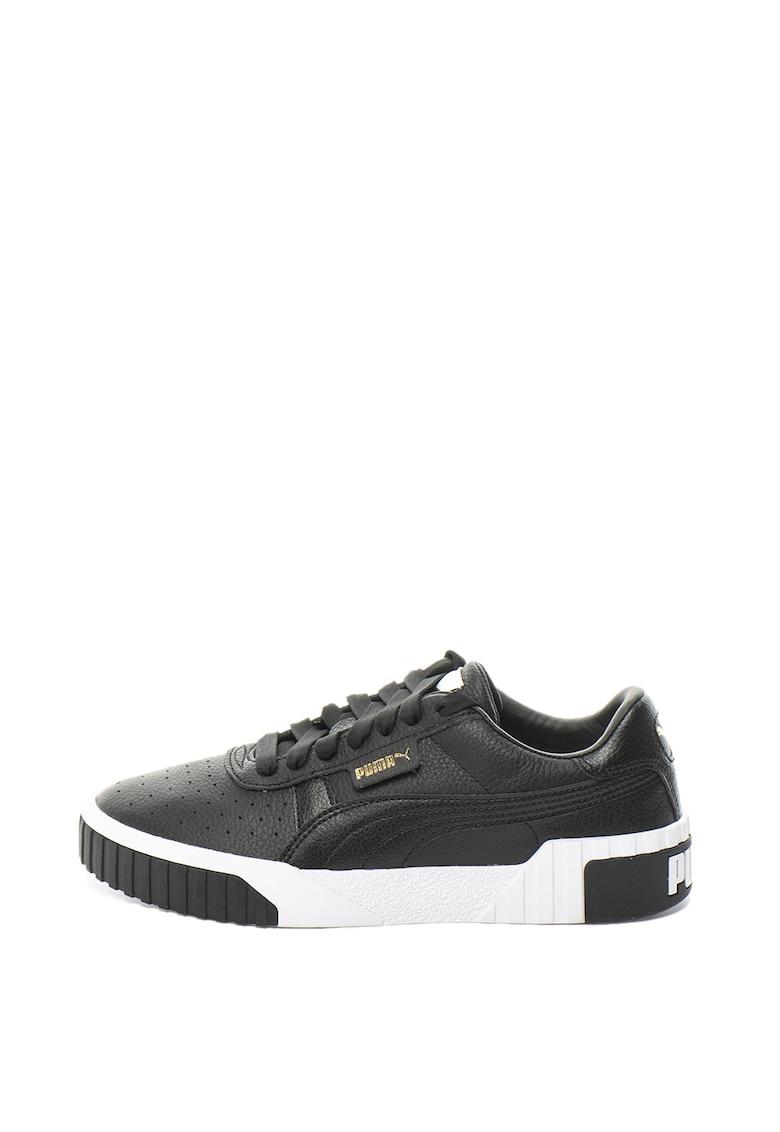 Pantofi sport cu insertii de piele Cali
