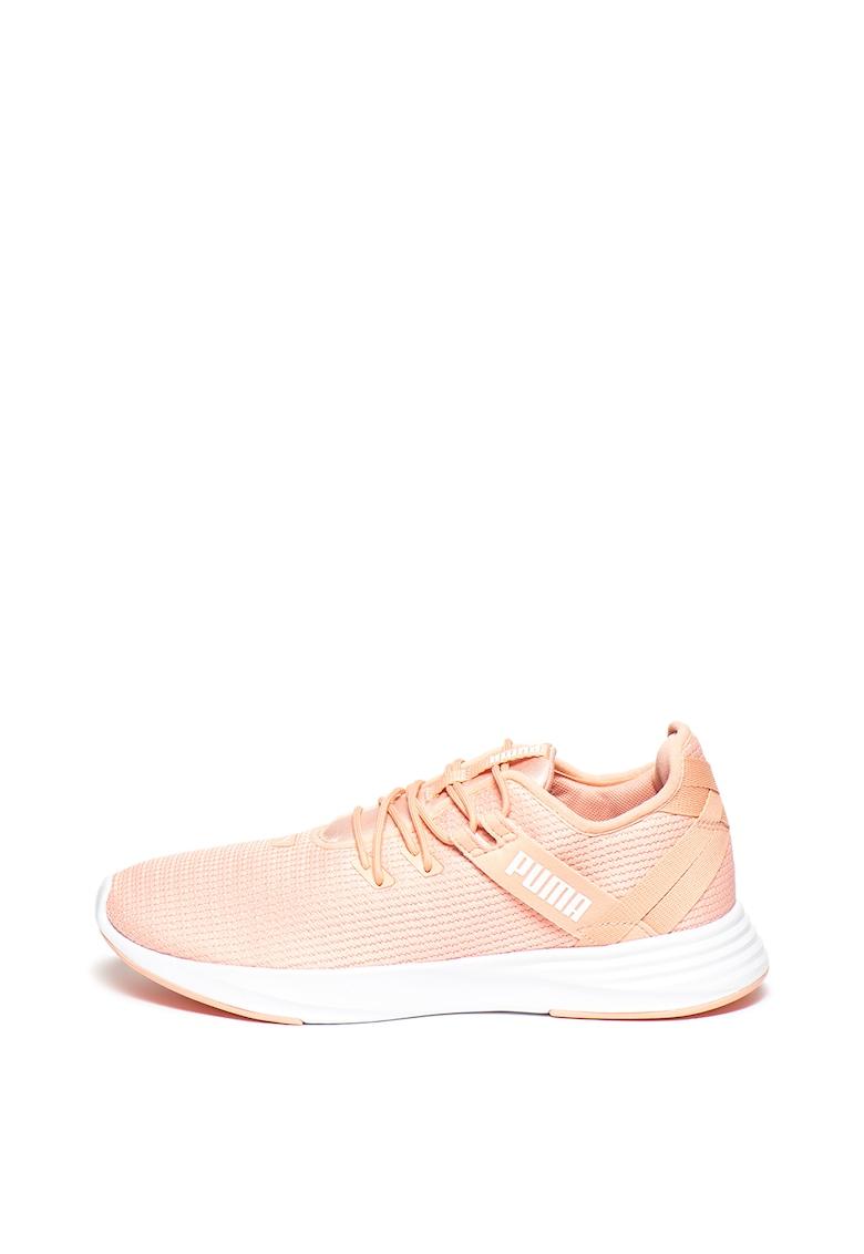 Pantofi usori din plasa cu aspect tricotat - pentru alergare Radiate XT