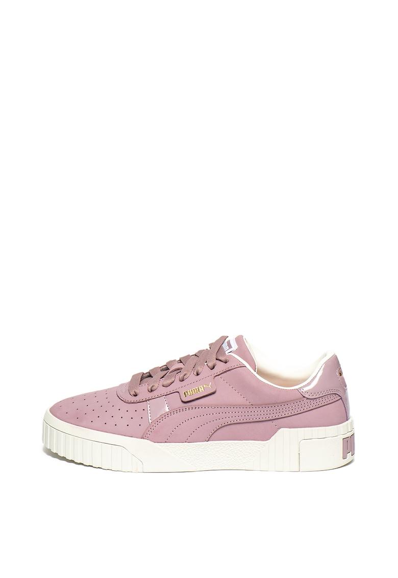 Pantofi sport de piele nabuc Cali