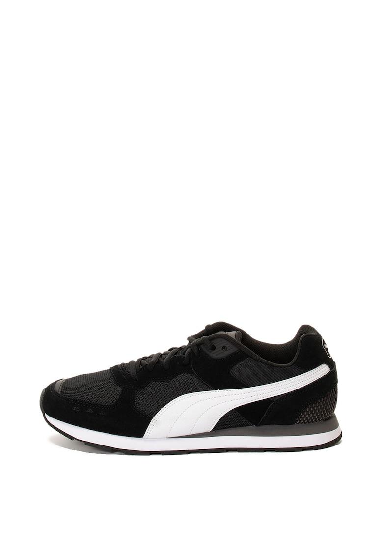 Pantofi sport cu insertii de piele si piele intoarsa Vista