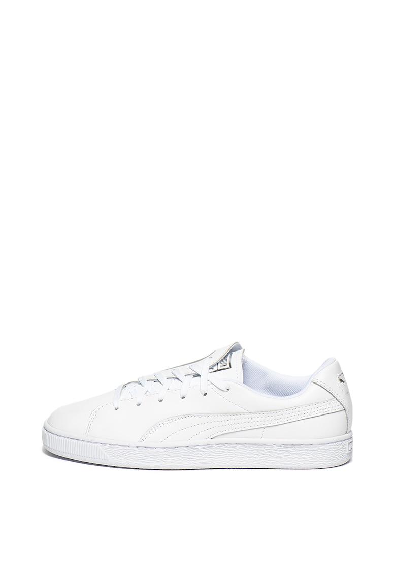 Pantofi sport de piele Basket Crush