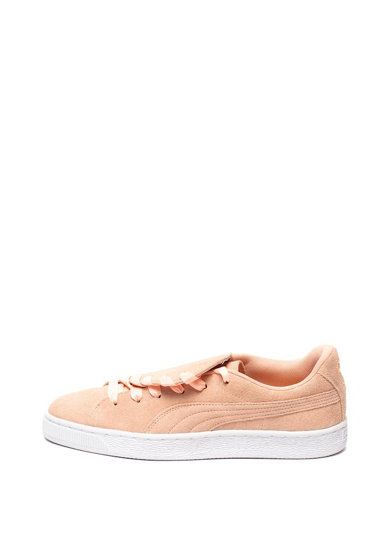 Pantofi sport de piele intoarsa Crush