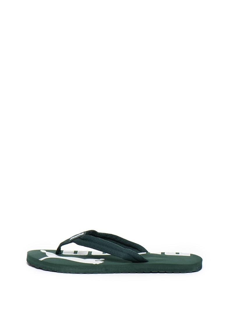 Papuci flip-flop cu detaliu logo Epic