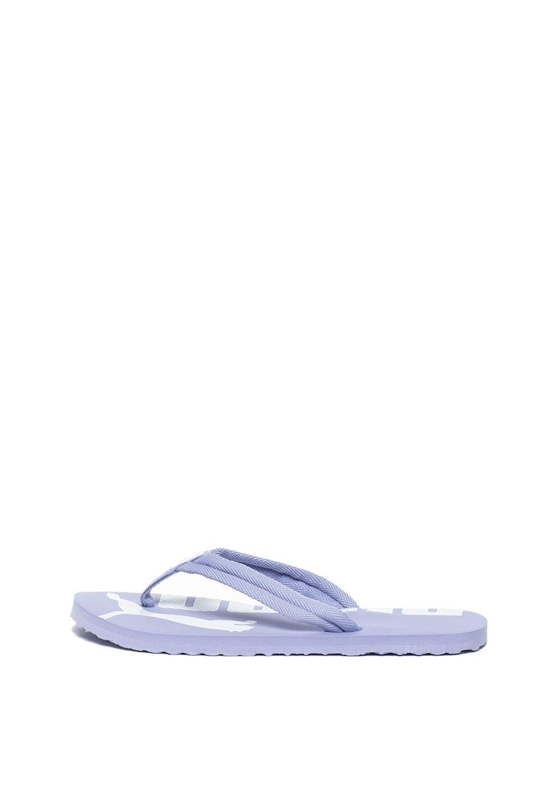 Papuci flip-flop cu imprimeu logo Epic