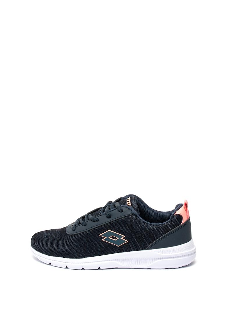 Pantofi sport din material usor cu aplicatie logo Andy imagine fashiondays.ro