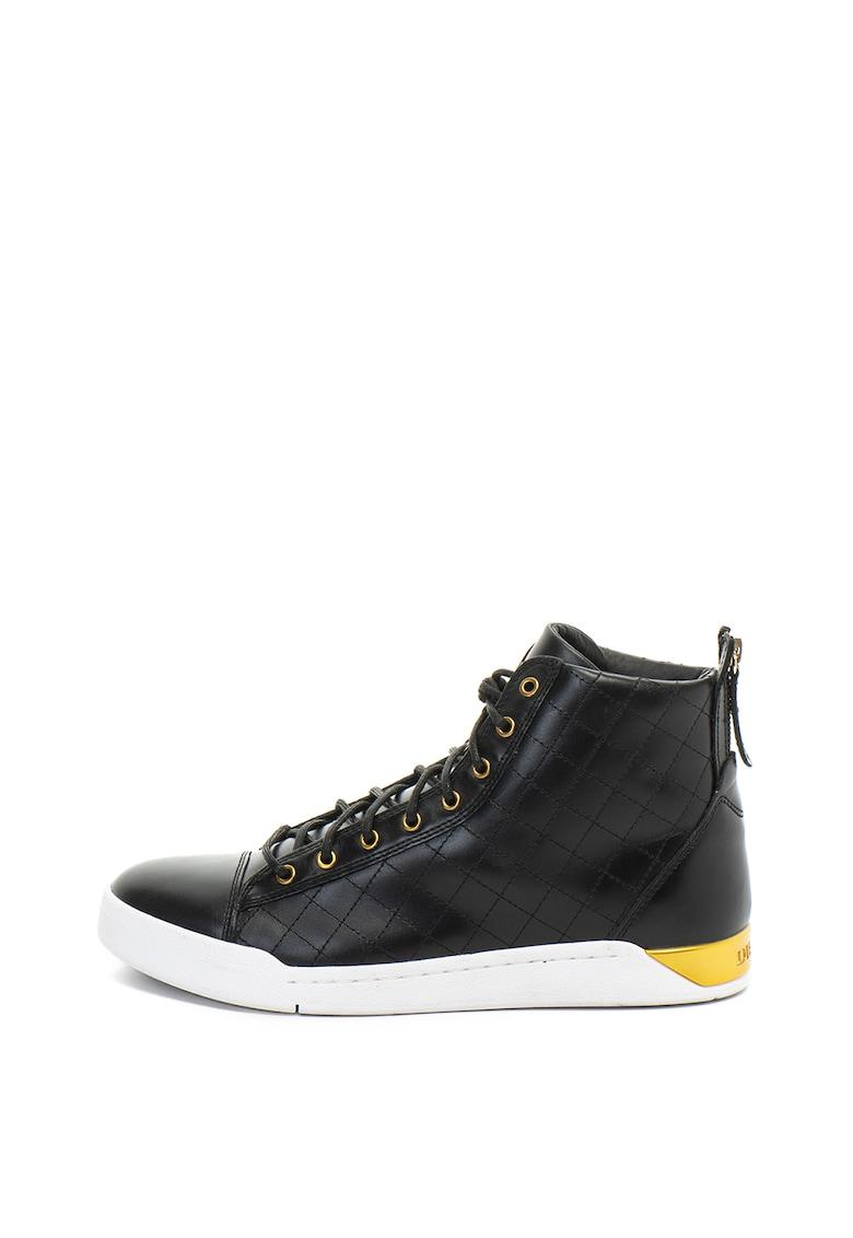 Pantofi sport mid-high de piele Diamond