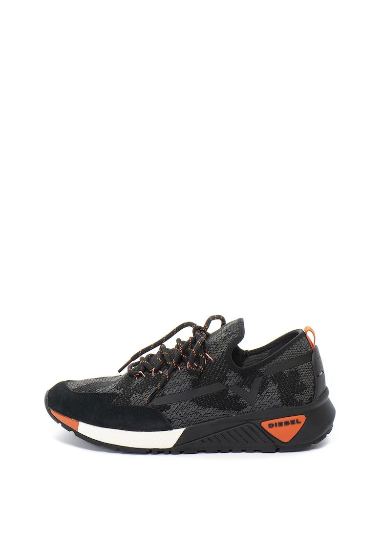 Pantofi sport slip-on tricotati Kby