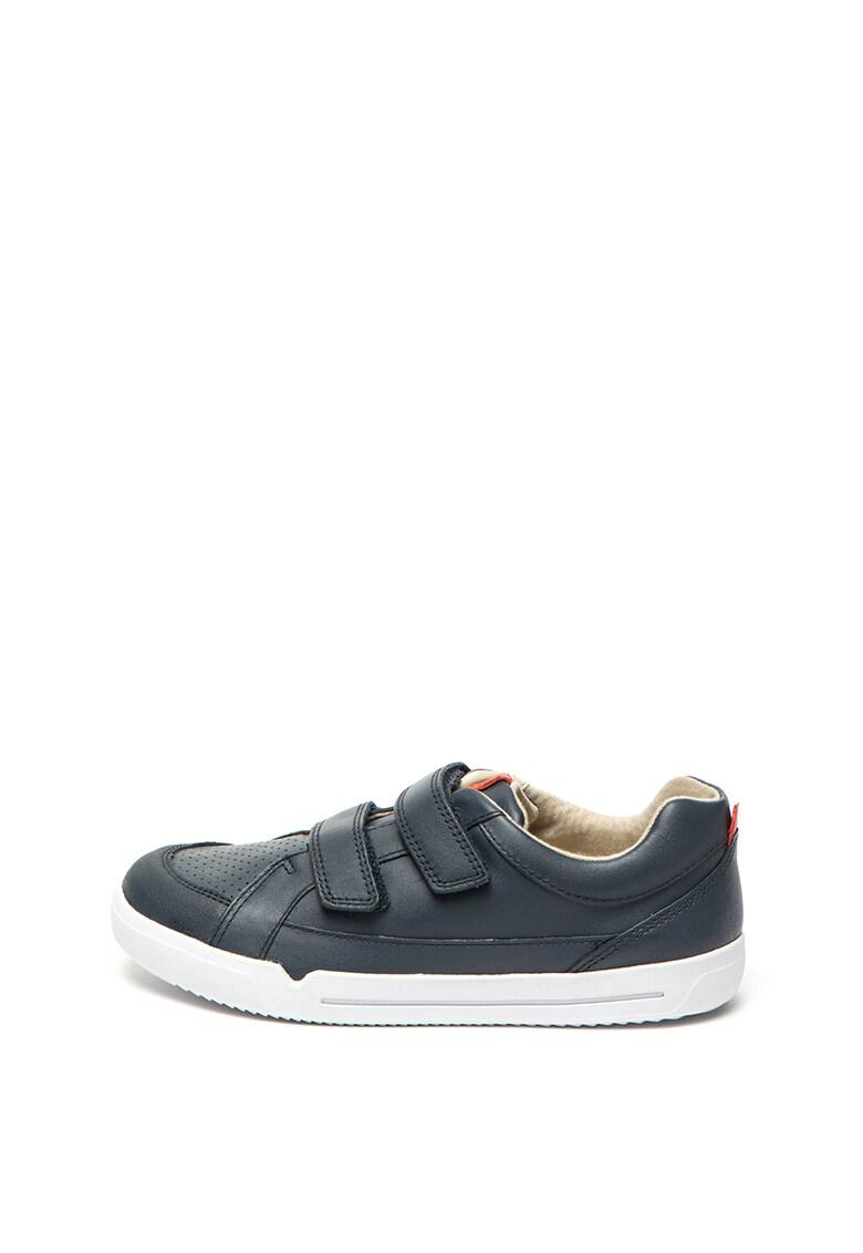 Clarks Pantofi sport cu garnituri de piele Emery Walk