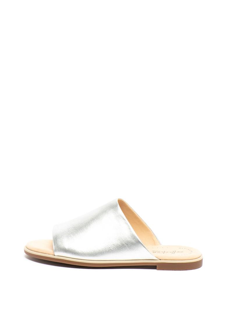 Papuci de piele Bay Petal