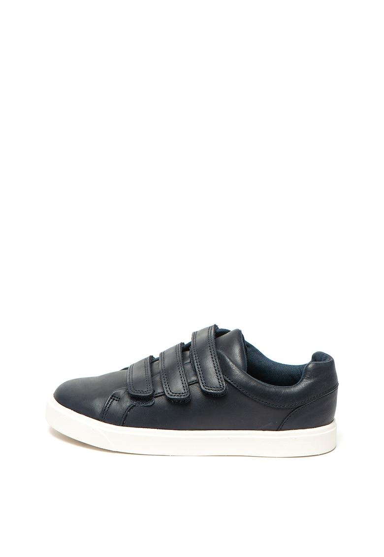 Pantofi sport de piele cu velcro City Oasis