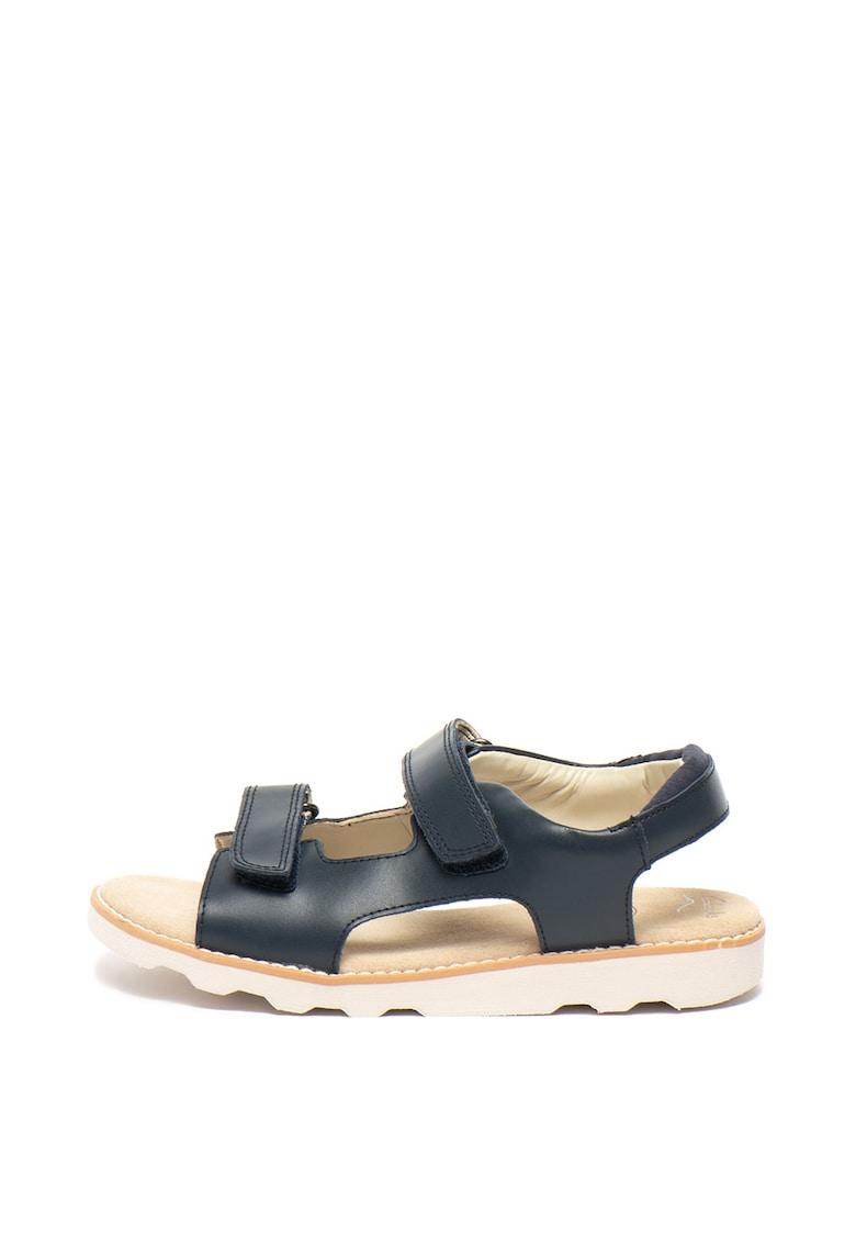 Sandale de piele – cu velcro Crown Root Clarks