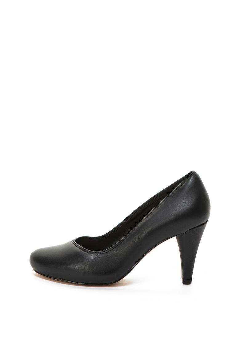 Clarks Pantofi de piele cu toc inalt Dalia Rose
