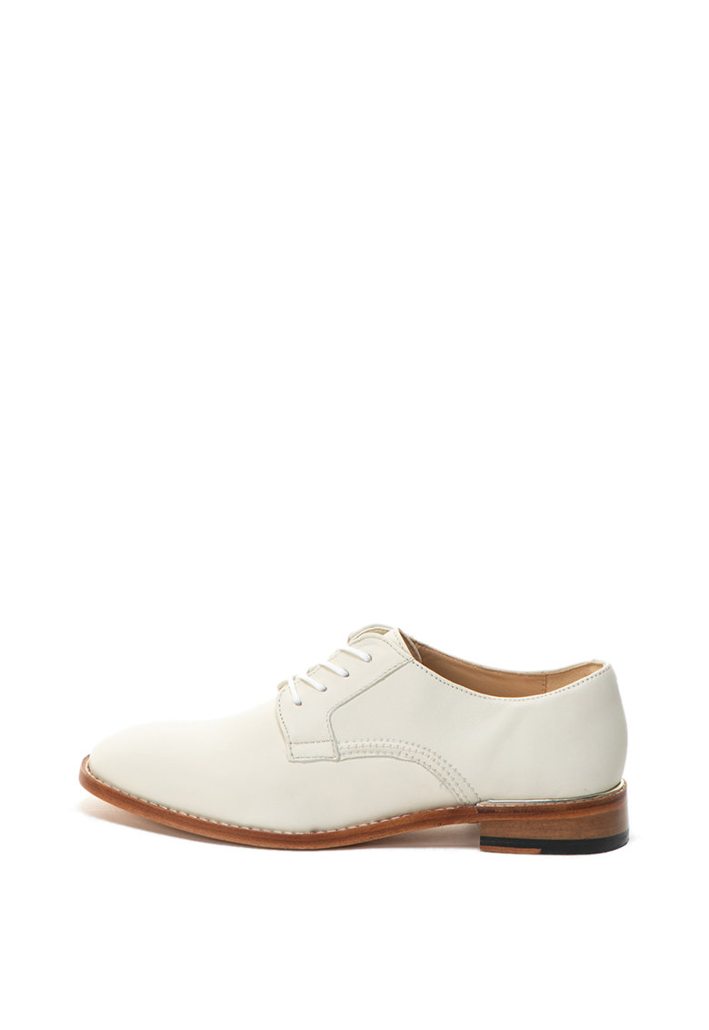 Pantofi derby de piele Ellis Scarlet