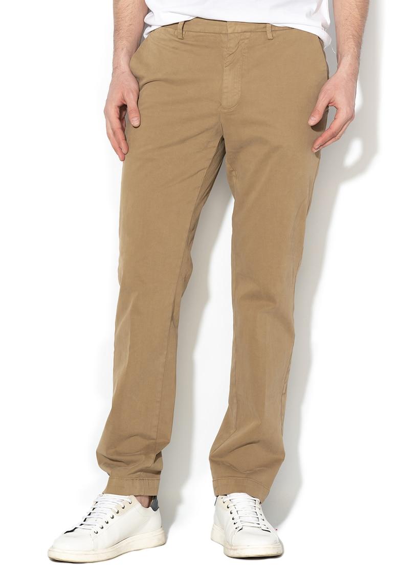 Pantaloni slim fit chino - cu talie medie de la Banana Republic