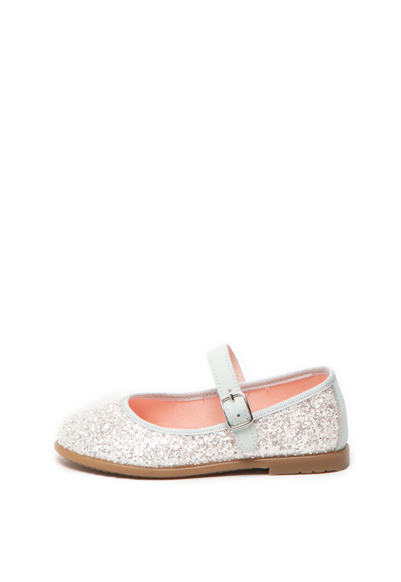 Pantofi Mary Jane cu aspect stralucitor Anapa