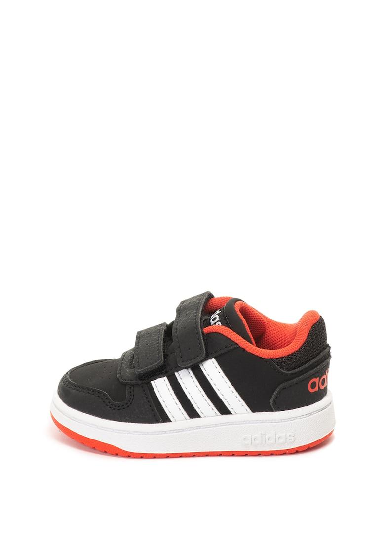 Pantofi sport cu velcro Hoops Adidas PERFORMANCE