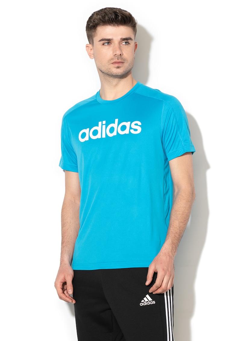 Tricou cu imprimeu logo - pentru fitness Cool