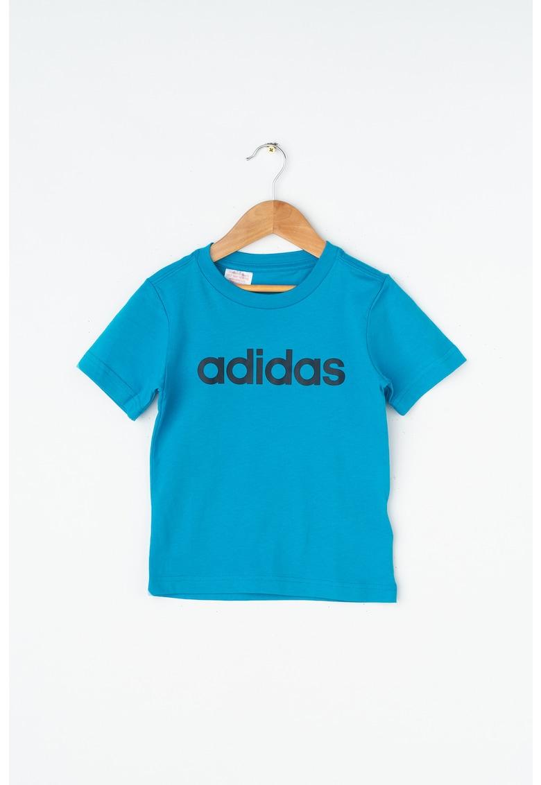 Tricou cu imprimeu logo Adidas PERFORMANCE