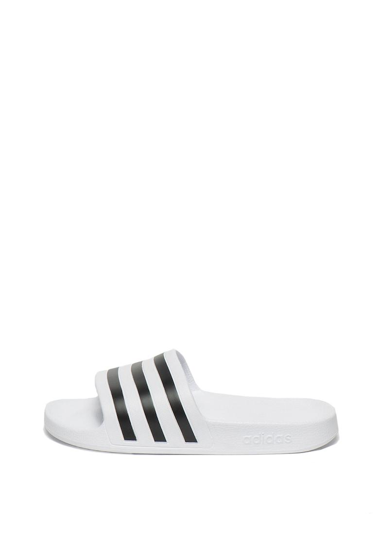 Papuci unisex cu dungi emblematice Adilette Acqua de la Adidas PERFORMANCE