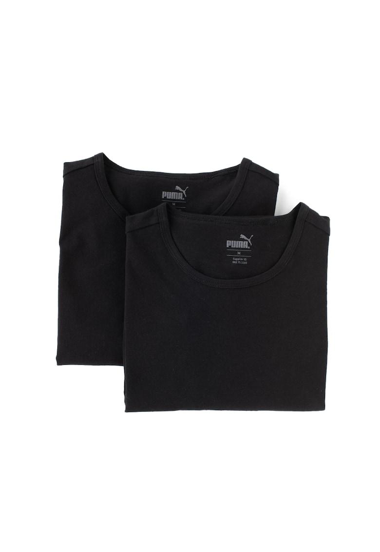 Set de tricouri regular fit din bumbac - 2 piese imagine