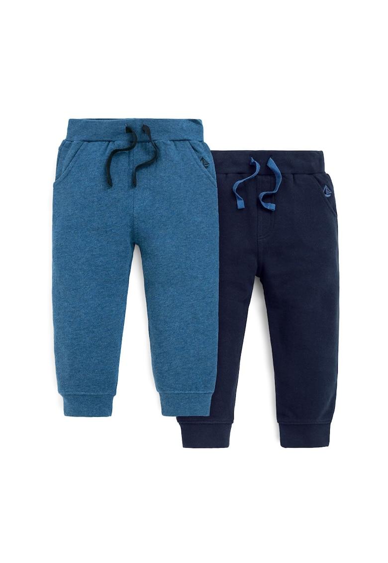 Set de pantaloni din bumbac - 2 piese