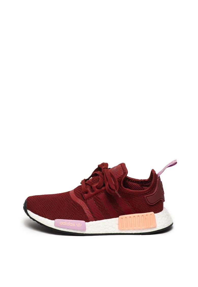 Pantofi sport cu aspect tricotat - pentru alergare