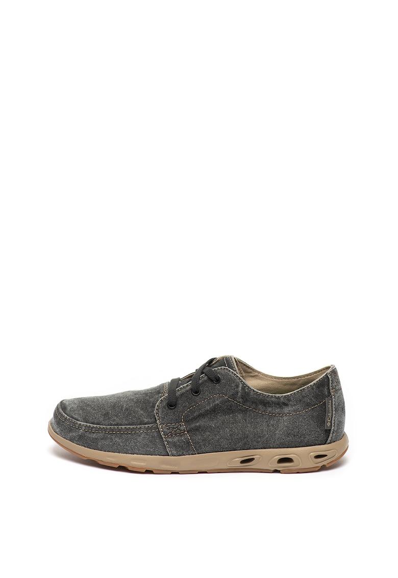 Pantofi casual din denim si piele Sunvent™ II