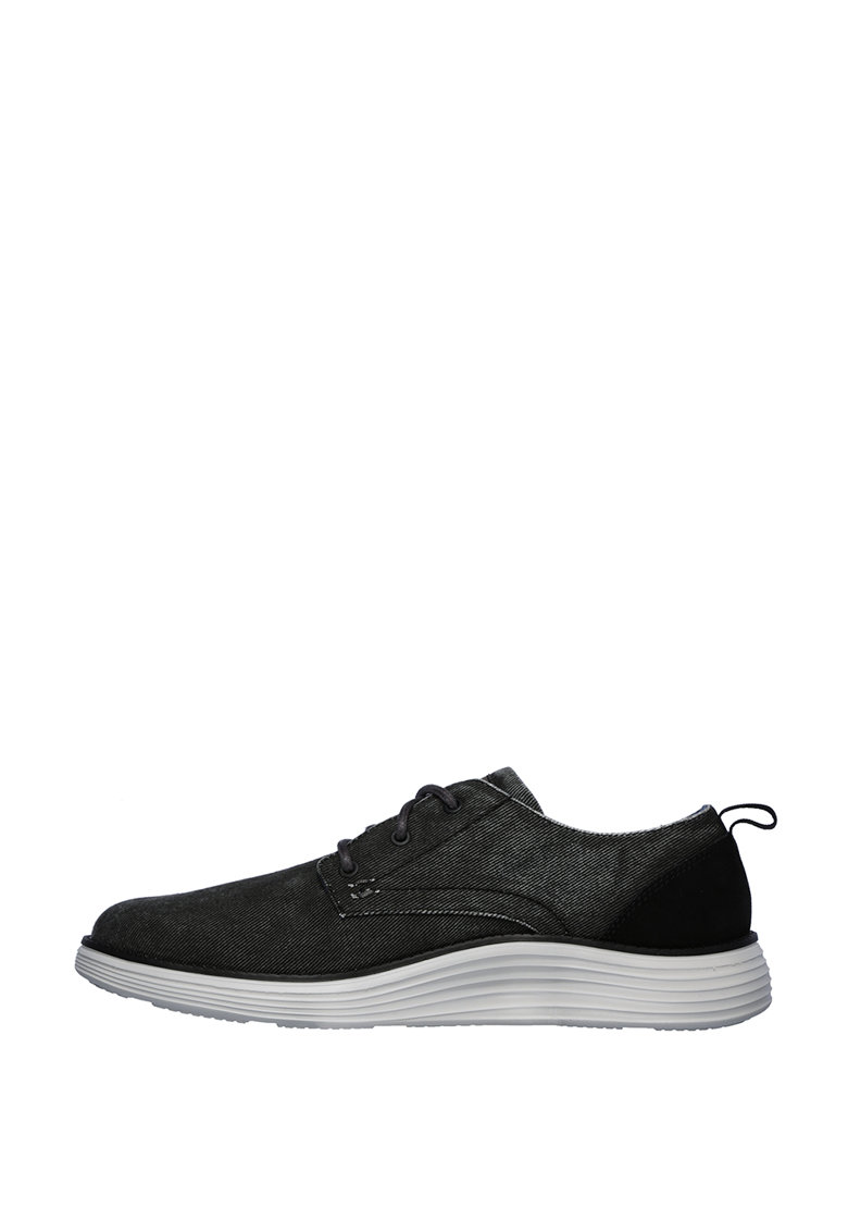 Pantofi derby de denim Pexton imagine