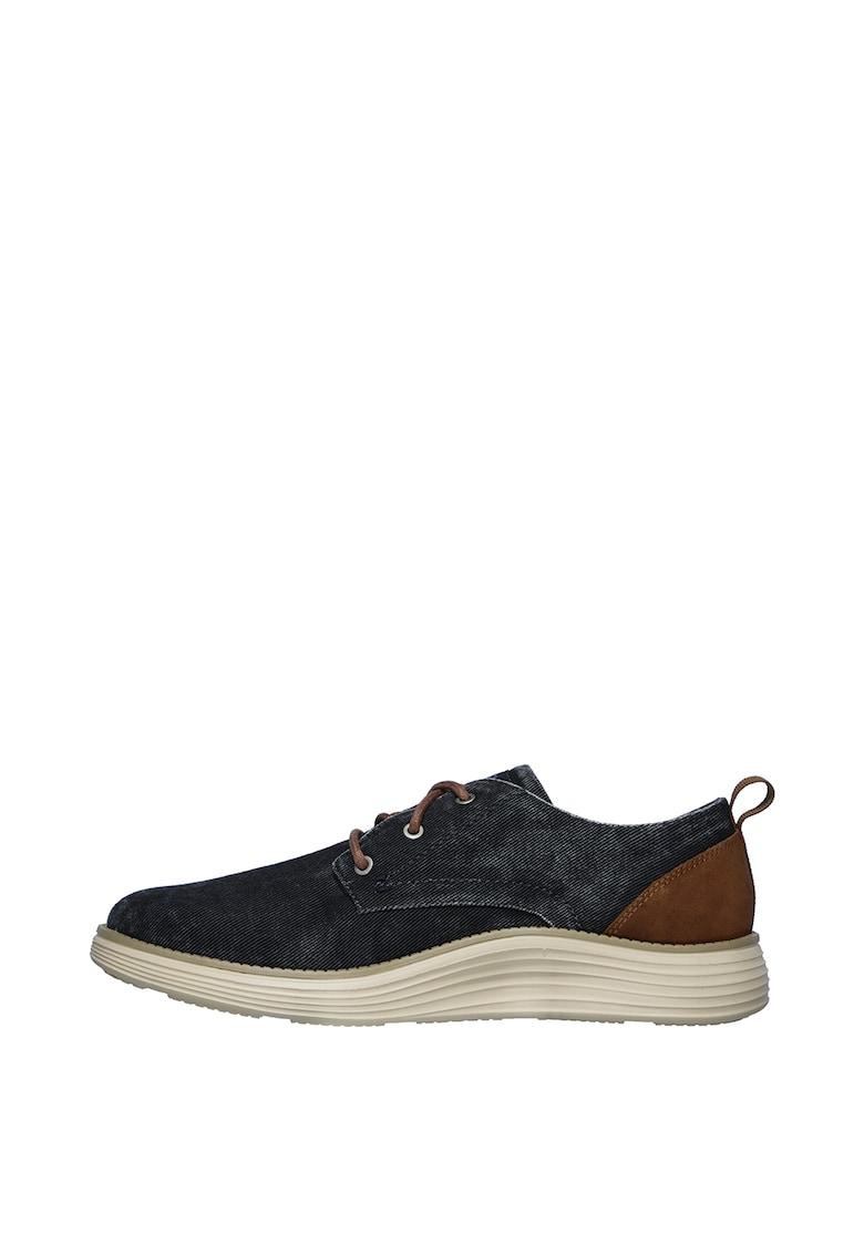 Pantofi cu aspect de denim Status 2.0 imagine