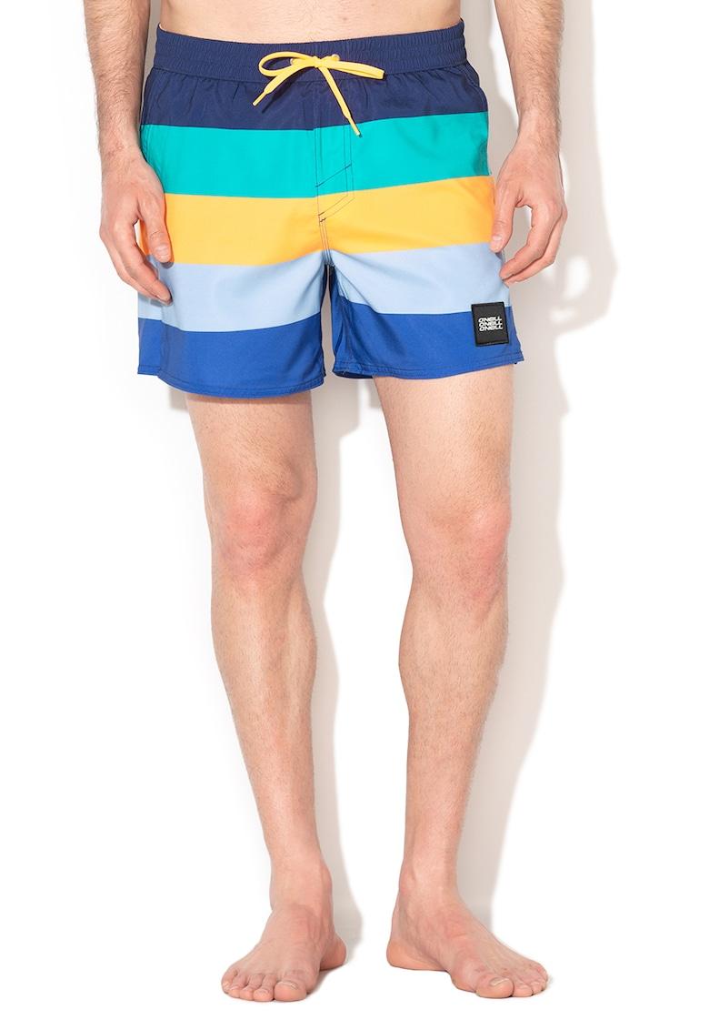 Pantaloni scurti de baie - cu model in dungi Vert Horizon
