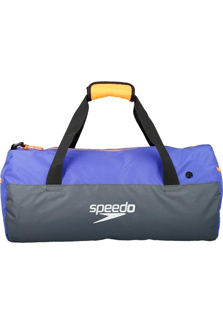 Geanta sport Duffel pentru adulti - Gri/Albastru imagine promotie